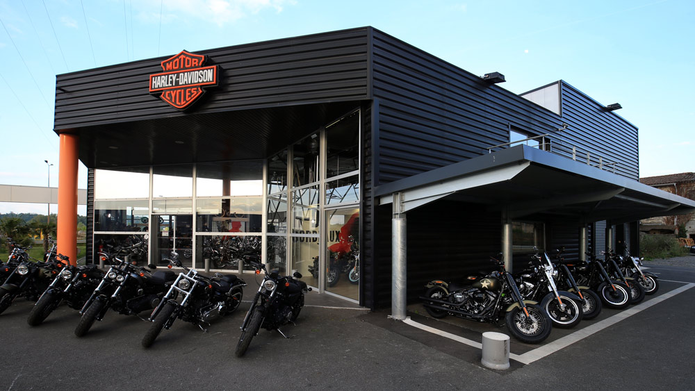 Concession Harley Davidson Bordeaux Bègles Louit